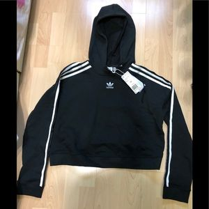 Adidas Crop Hoodie size XS